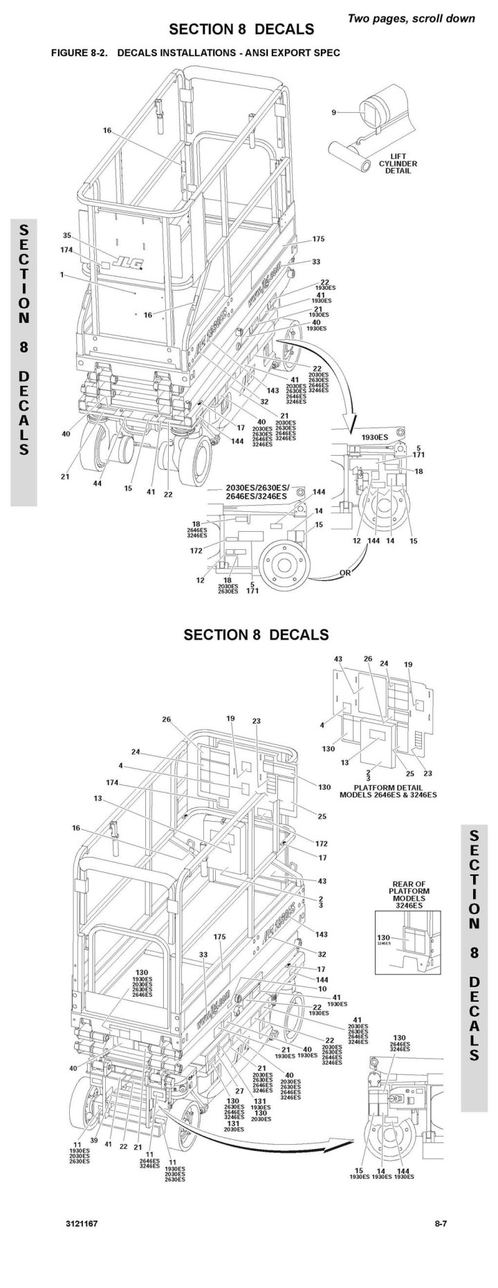 Jlg 20am Wiring Diagram. jlg scissor lift wiring diagram