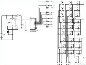 [KC_3477] Led Cube Circuit Download Diagram