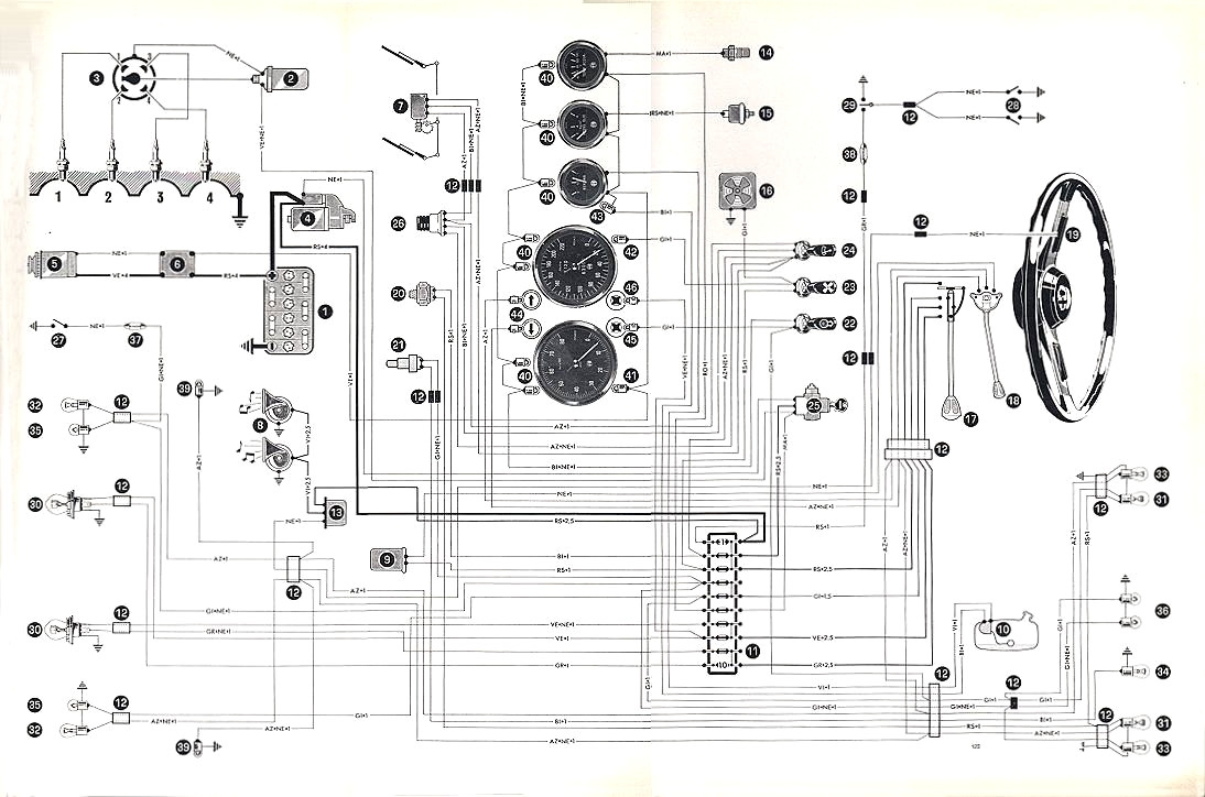 [HW_0533] Alfa Romeo Spider Wiring Diagram Further Fiat