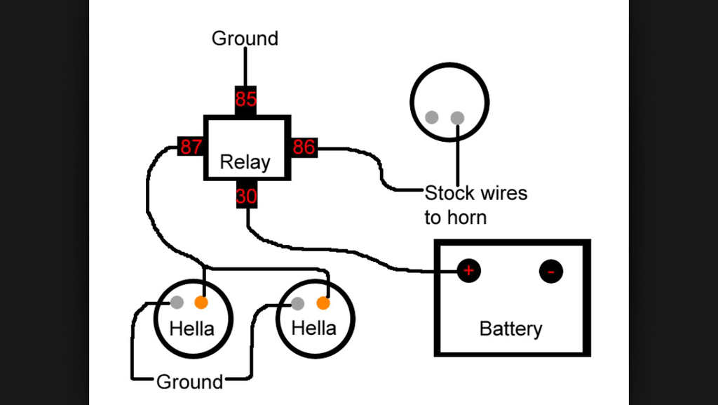 Wiring Diagram For Hella Relay Collection
