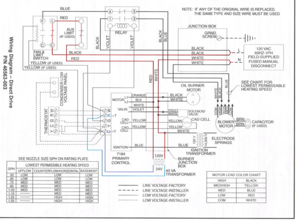 [MH_6510] Payne Thermostat Wiring Download Diagram
