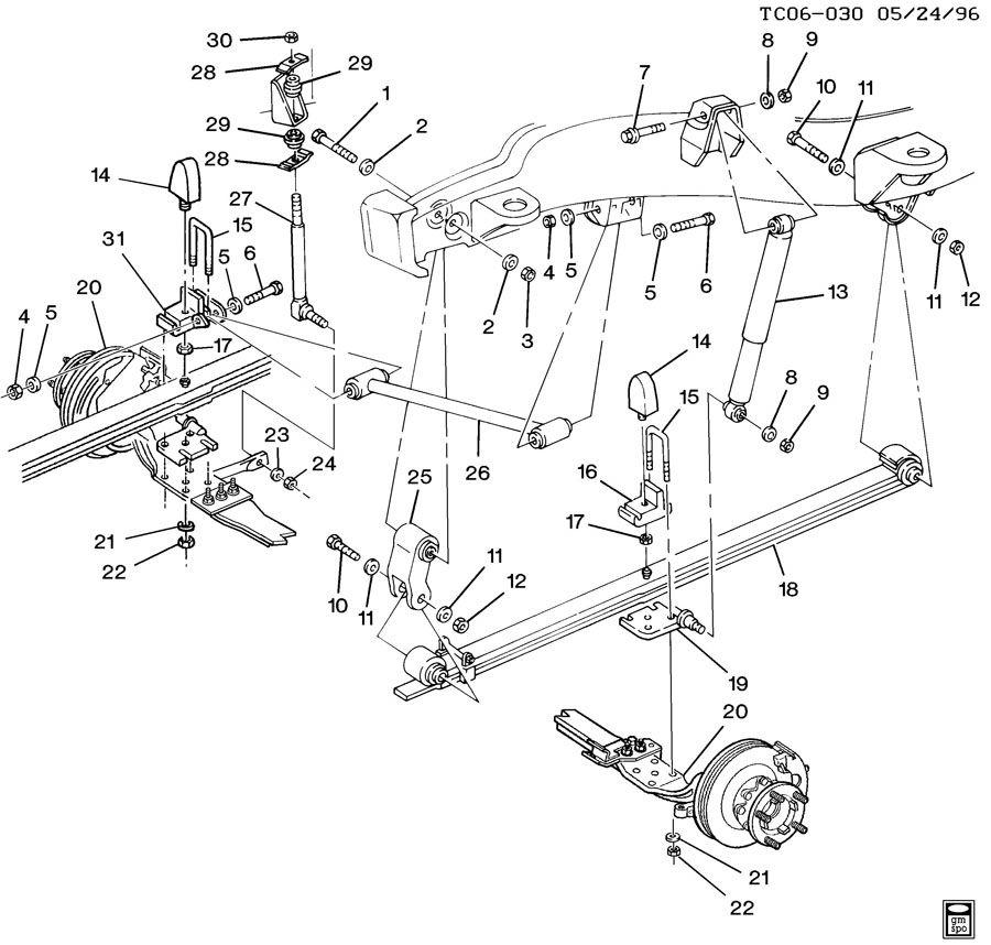 [GD_9855] 1997 Chevy Silverado Suspension Diagram Free Diagram