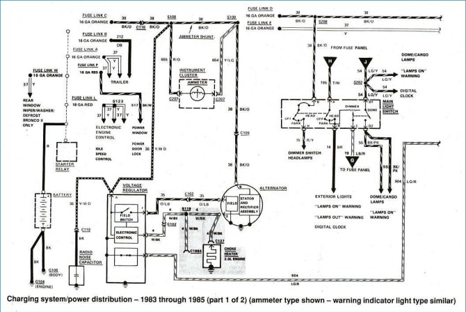 1984 f100 wiring diagram  wiring diagram diodecentrala