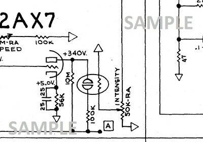 [TM_5530] 1957 Deluxe Fender Amplifier Schematic Diagram