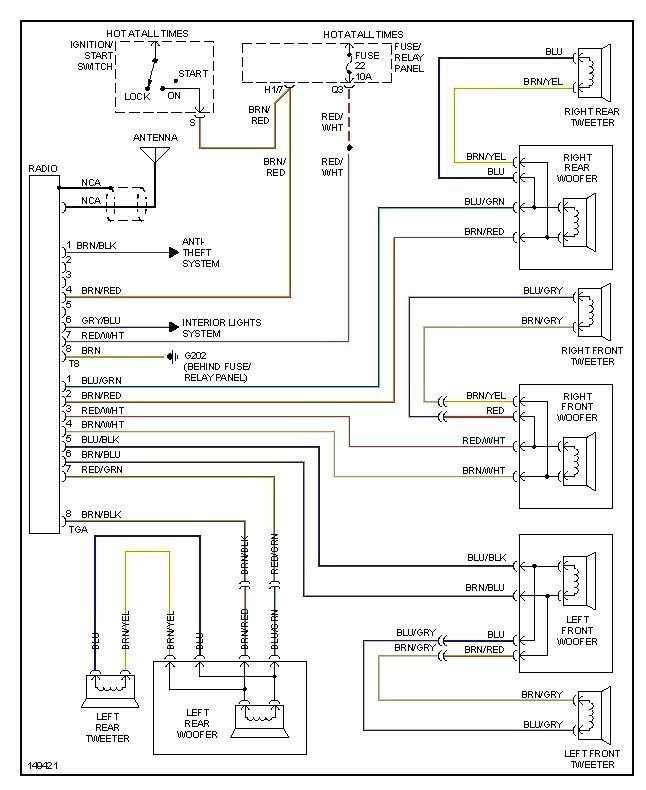 2001 Isuzu Rodeo Radio Wiring Diagram Database