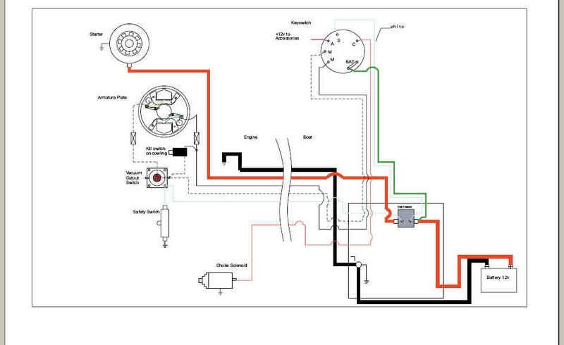 Yamaha Outboard Electrical Wiring Diagram / 2008 Yamaha 25