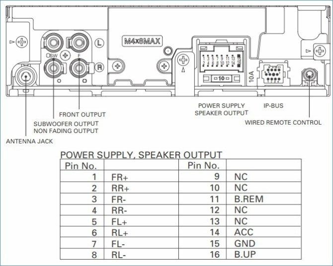 pioneer dxt x4869bt wiring diagram  1973 ford f 250