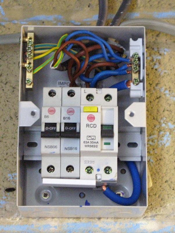 crabtree garage consumer unit wiring diagram  46 chevy
