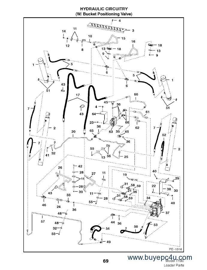[WA_3522] Bobcat Parts Diagram 753 Download Diagram