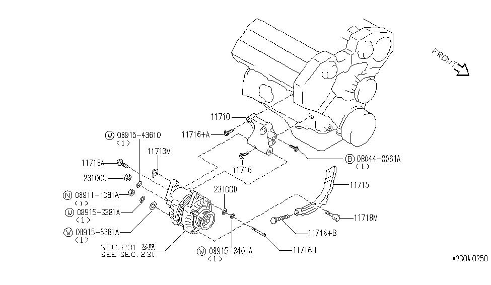 [YZ_2050] Infiniti J30 Alternator Wiring Diagram Free Diagram