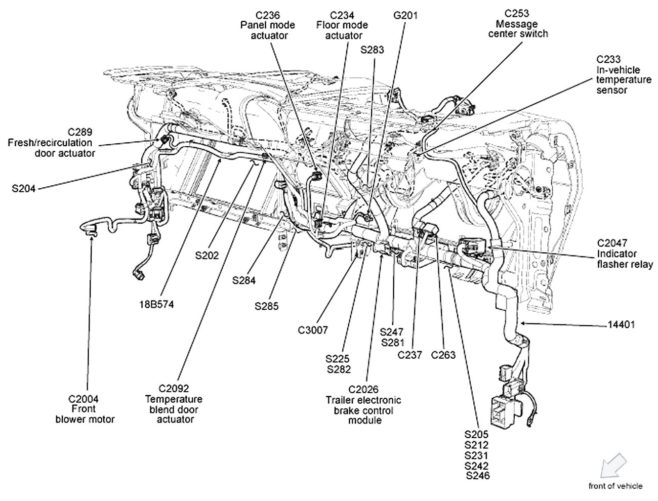 [ZZ_7244] 05 Ford Escape Engine Wire Harness Free Diagram