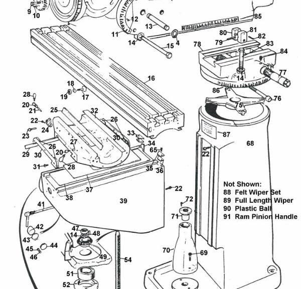 [KC_2186] Metal Lathe Parts Diagram On Bridgeport Milling