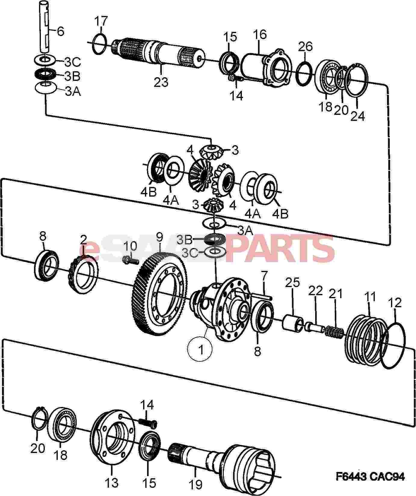 [NV_7602] Saab 9 3 Manual Transmission Diagram Wiring Diagram