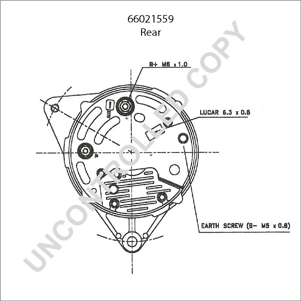 Bosch Alternator Wiring Diagram Database