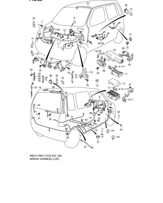 Maruti Wagon R Electrical Wiring : Maruti Suzuki Wagon R