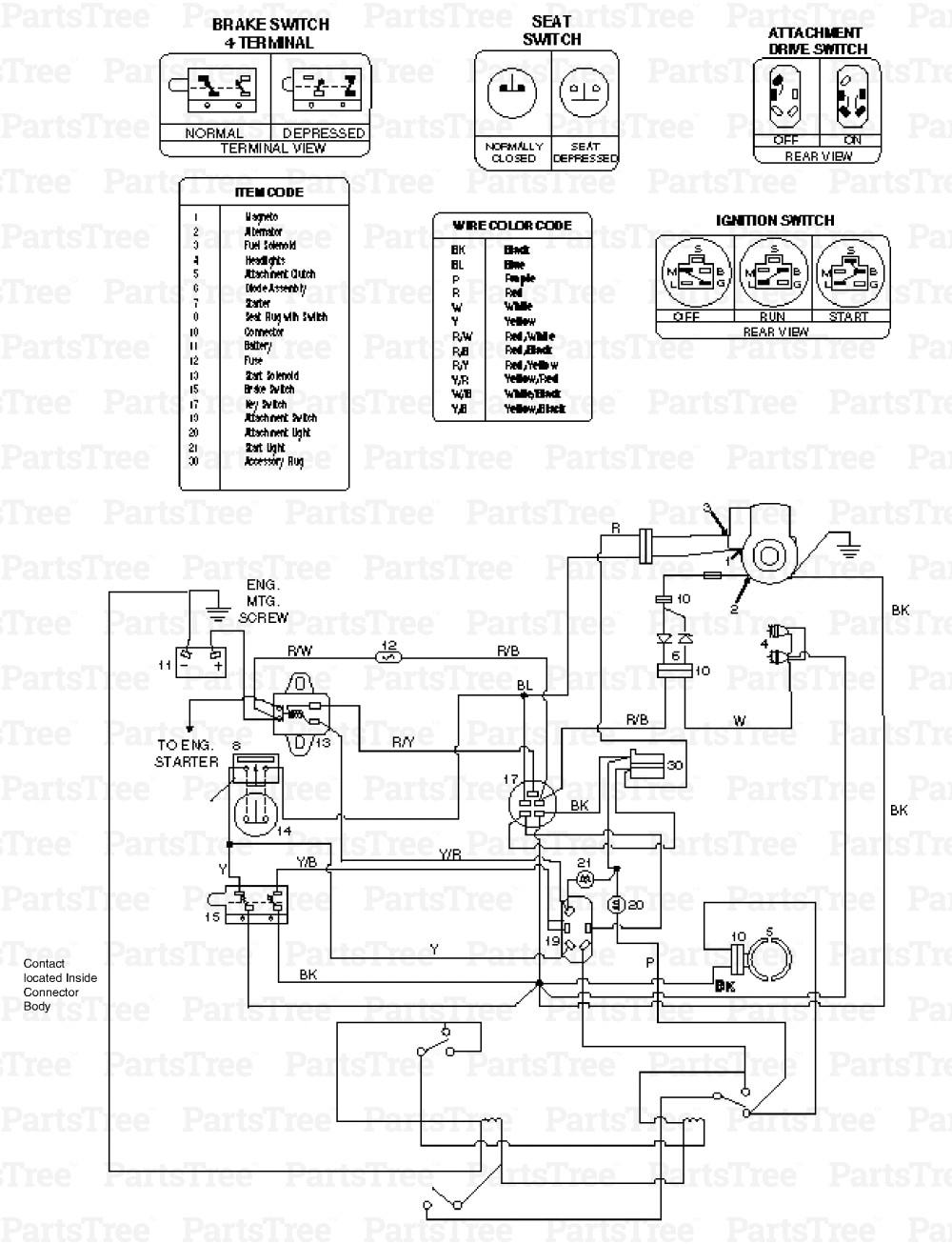 Lt1045 Cub Cadet Wiring Diagram Database