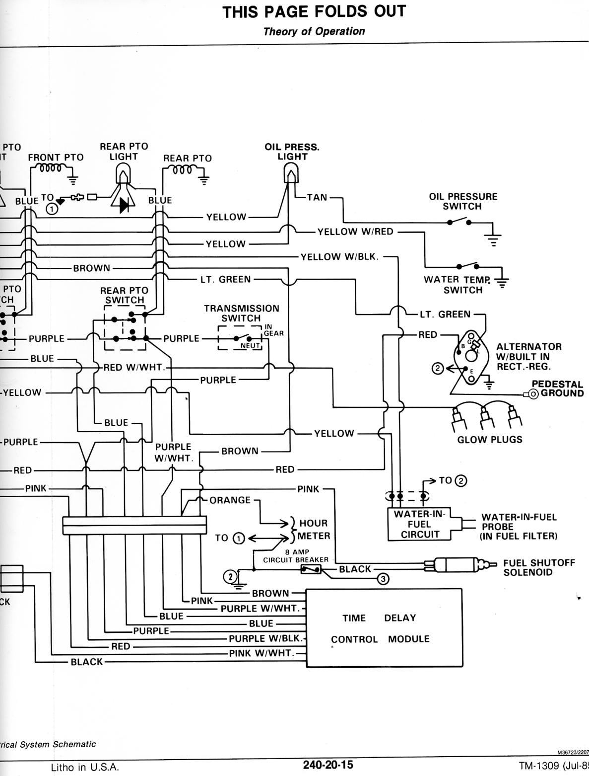 [ZH_4174] 1070 Case Wiring Diagram Schematic Wiring