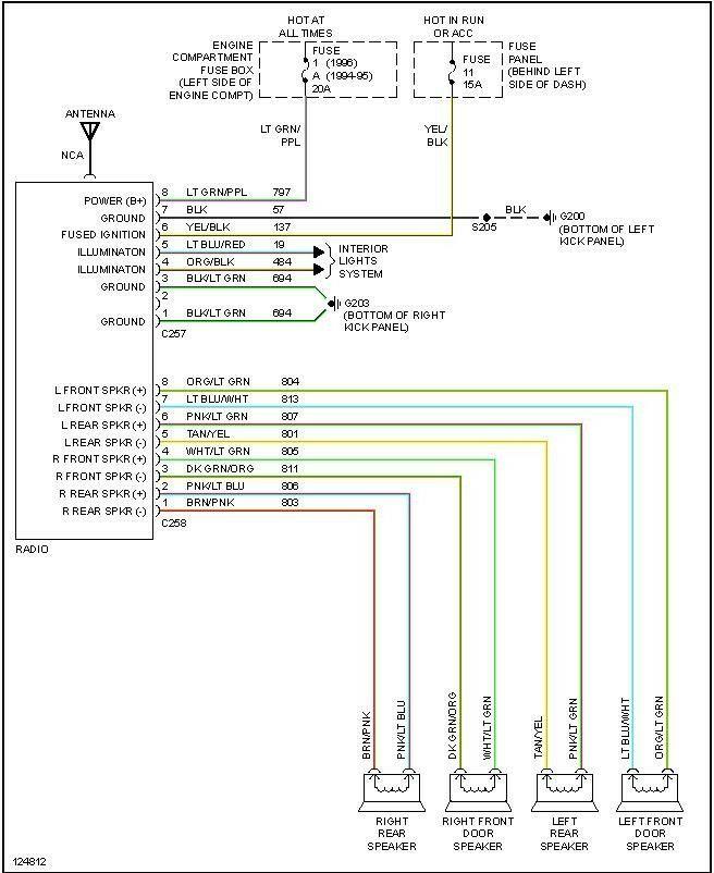 Toyota Radio Wiring Diagram Pdf   Free Wiring Diagram