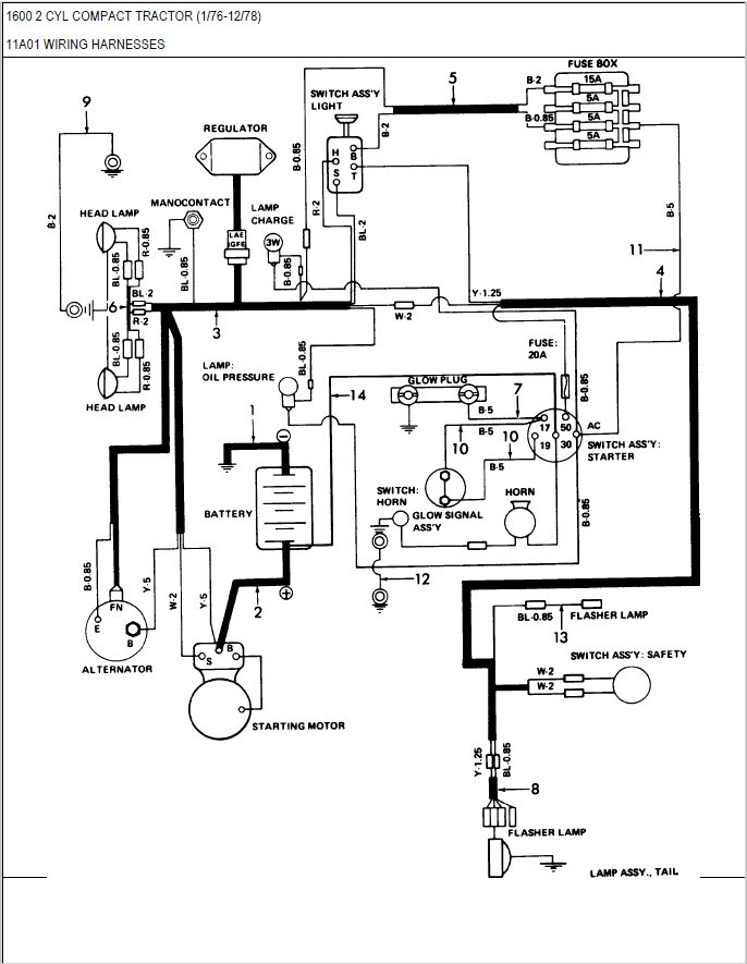Ford Tractor Starter Solenoid Wiring Diagram : tractor, starter, solenoid, wiring, diagram, Tractor, Starter, Wiring, Diagram, Wait-hike, Wait-hike.faishoppingconsvitol.it