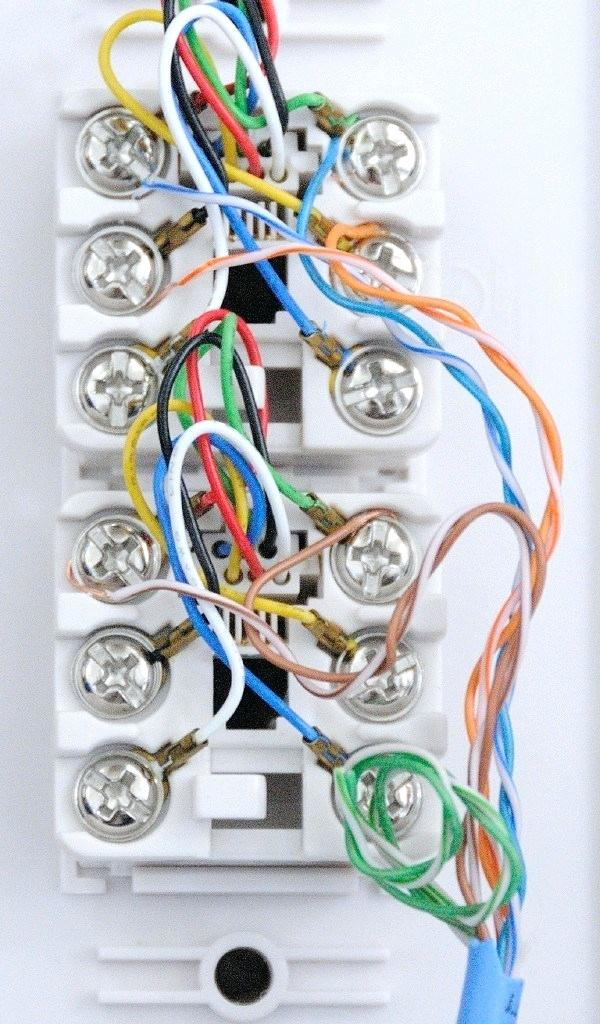 How To Wire A Phone Jack With Cat5 : phone, OL_3823], Wiring, Diagram, Cable, Telephone, Schematic