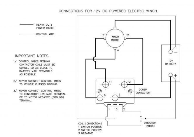 12 volt winch wiring diagram  1991 yamaha blaster wiring