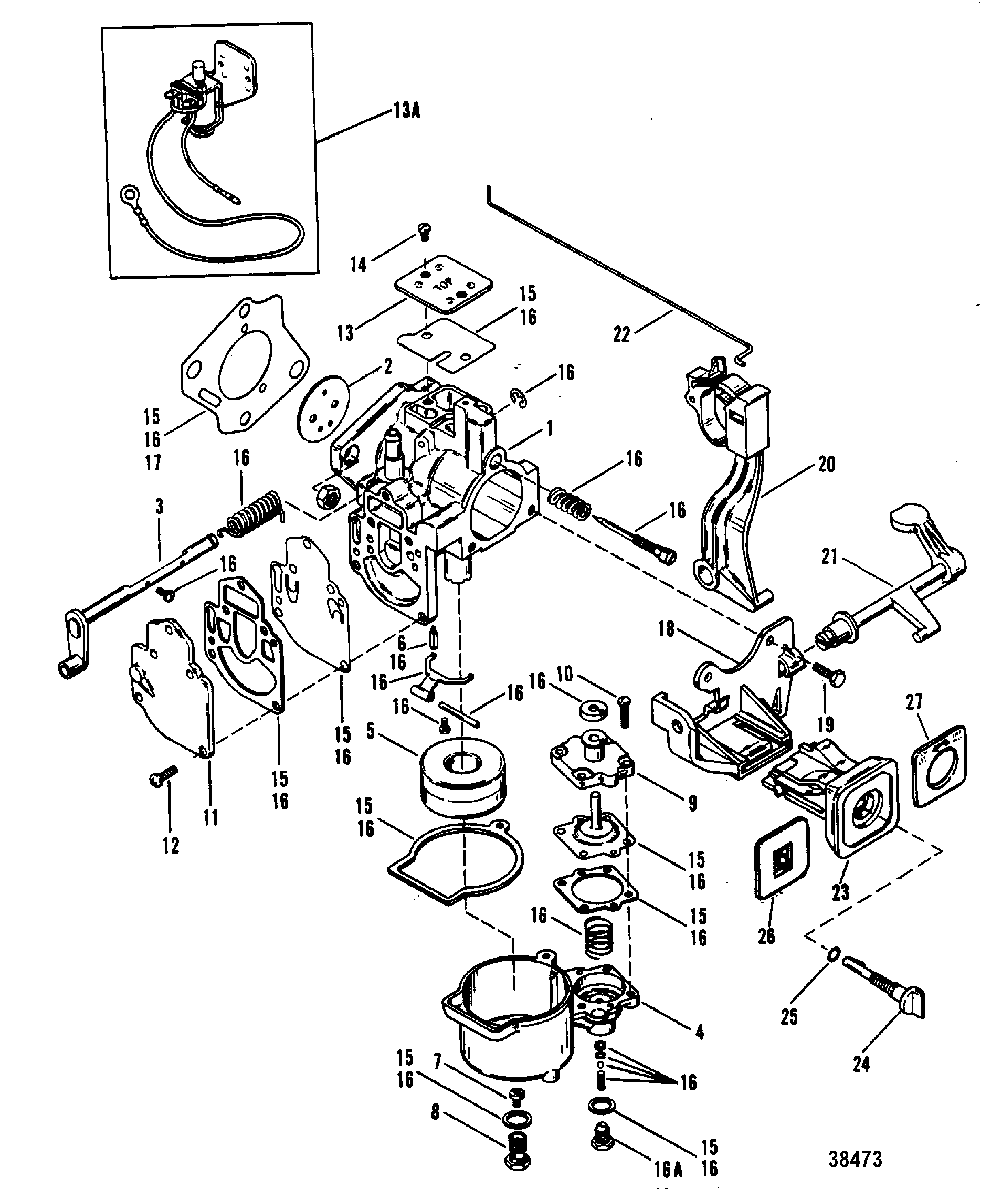 [CD_2088] Hp Outboard Motor Parts Diagram Motor