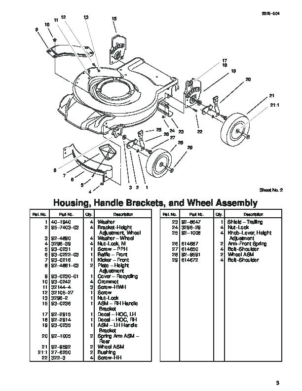 [TB_5423] Transmission Belt Diagram Also Toro Recycler