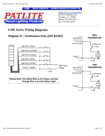 patlite model met wiring diagram  pietrodavicoit cycle