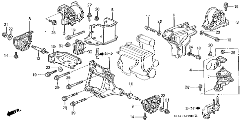 1999 Honda Crv Door Wiring Diagram