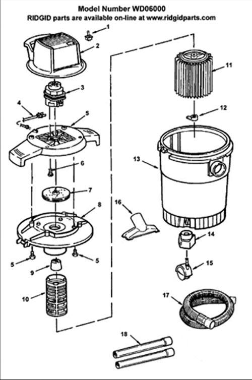 [NL_3871] Ridgid Shop Vac Wiring Diagram On Shop Vac
