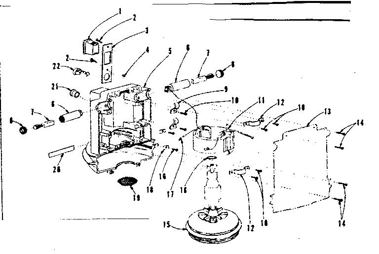 [KX_7203] Shop Vac Motor Diagram Motor Repalcement Parts