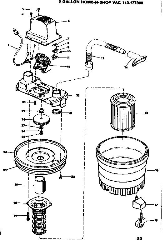 [KA_3162] Shop Vac Motor Diagram Motor Repalcement Parts