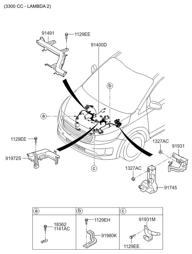 [FR_9856] Kia Sedona Wiring Wiring Diagram