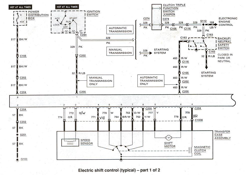 [LS_7218] 2001 Ford Ranger 4X4 Switch Wiring Wiring Diagram