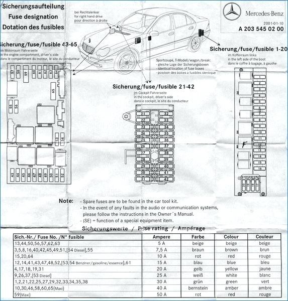 [CG_4370] Mercedes Clk500 Fuse Box Diagram Wiring Diagram