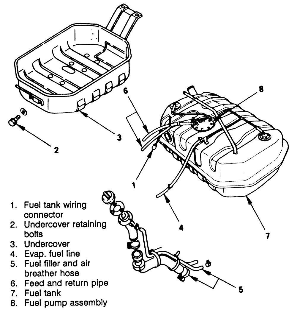 2001 Isuzu Rodeo Fuel Pump Wiring Diagram