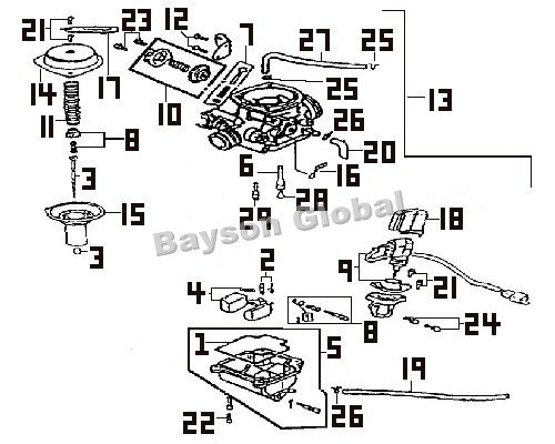 [SX_0733] 50Cc Scooter Carburetor Diagram Free Diagram