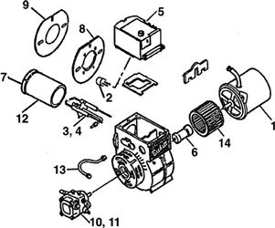 Best View Of Beckett Oil Burner Parts List And Description