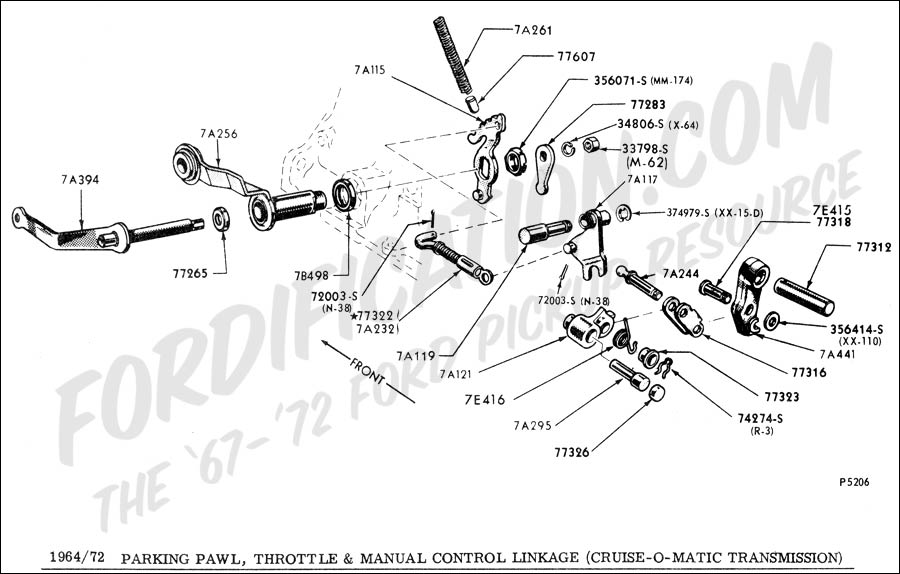 [VN_1727] Ford C6 Transmission Parts Diagram Download Diagram