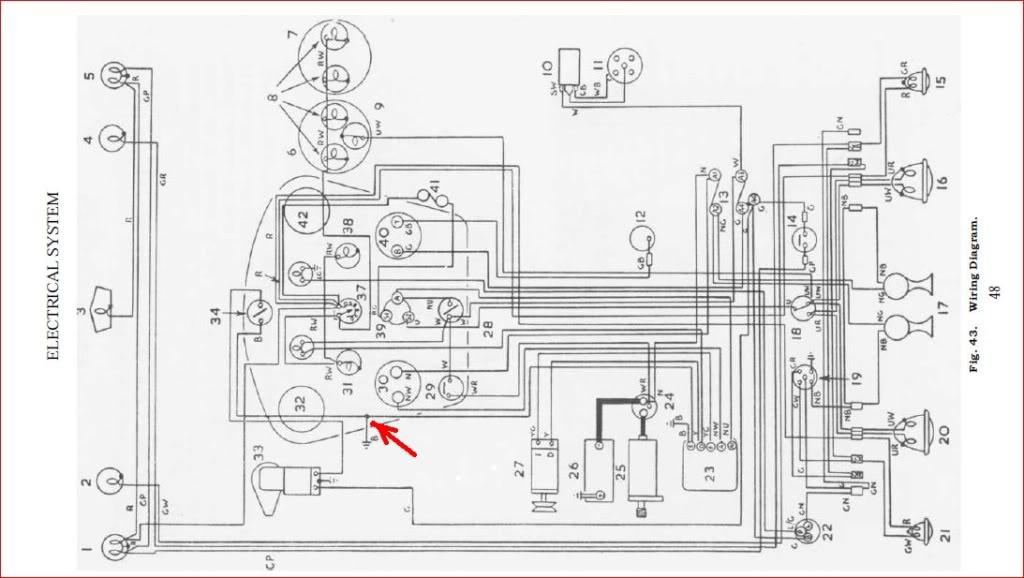 [SC_0795] Austin Healey Bn1 Wiring Diagram Schematic Wiring