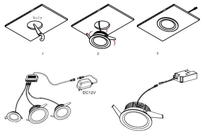 [AA_4870] Downlight Wiring Instructions Download Diagram
