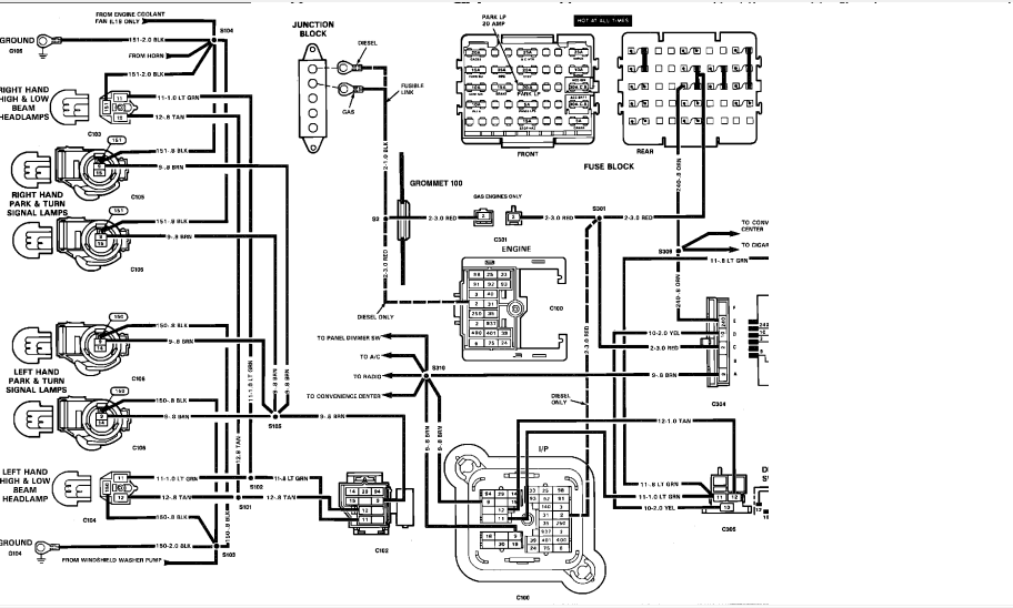 [DIAGRAM] Wiring Diagram For 88 Chevy K1500 FULL Version