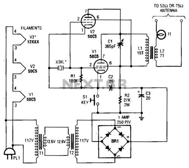 [ZW_9083] Transmitter Circuit Rf Circuits Nextgr Free Diagram