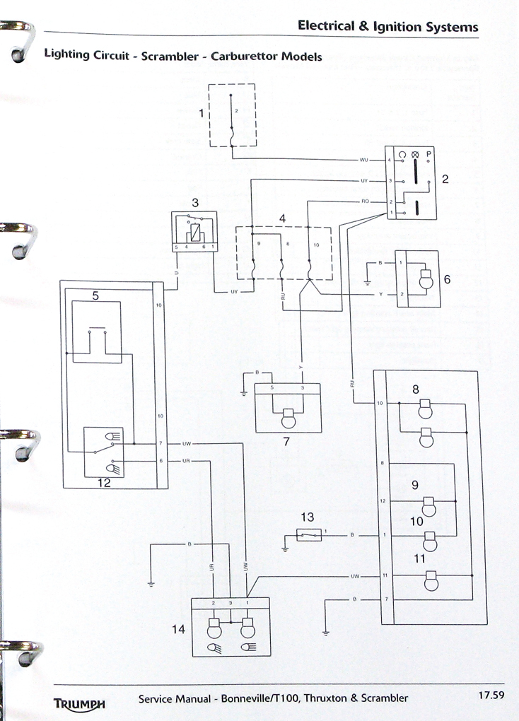 [TL_0986] Triumph Bonneville Engine Diagram Wiring Diagram