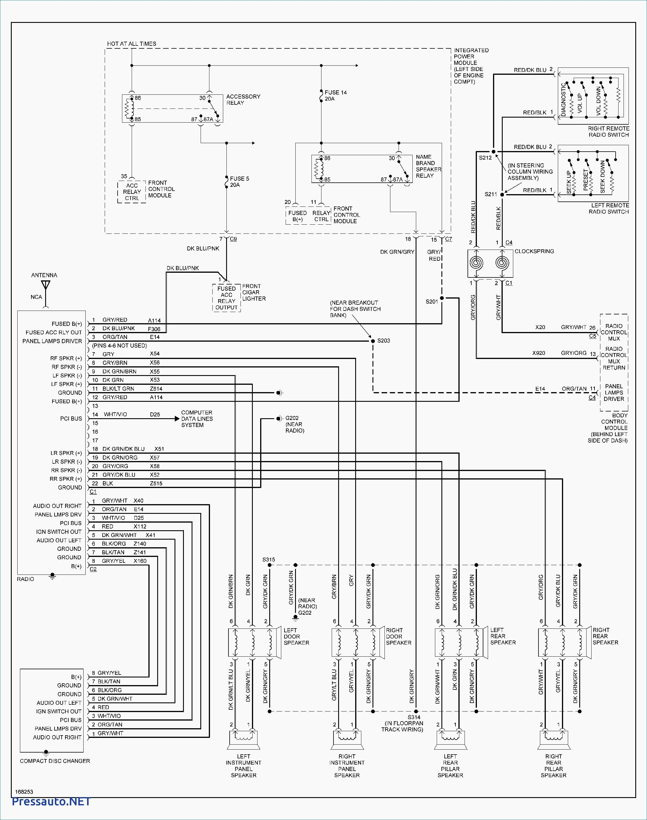 [NR_0437] 2001 Dodge Wiring Diagram Free Diagram