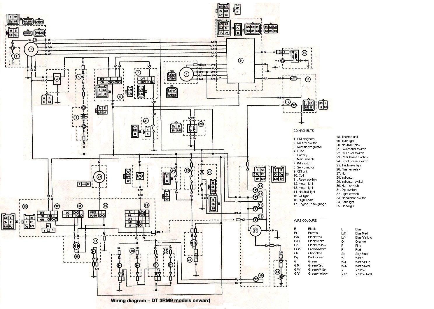[DR_5391] Yfz350 Wiring Diagram Cdi Schematic Wiring