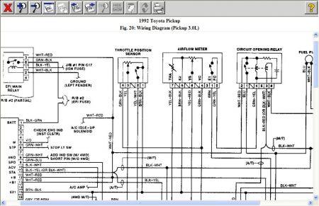 [DIAGRAM] 1989 Toyota Pickup Truck Wiring Diagram Manual