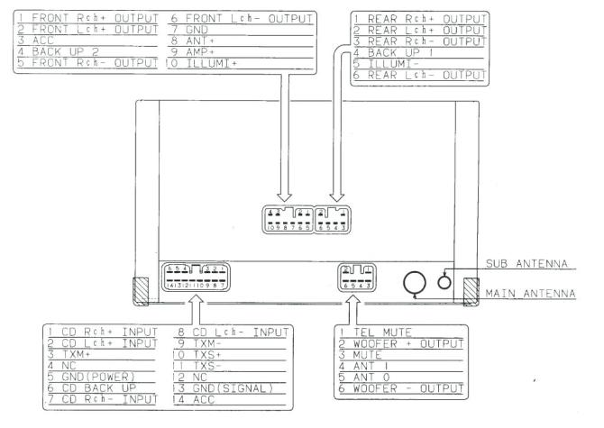 pioneer deh 10 wiring diagram  schematic wiring diagram