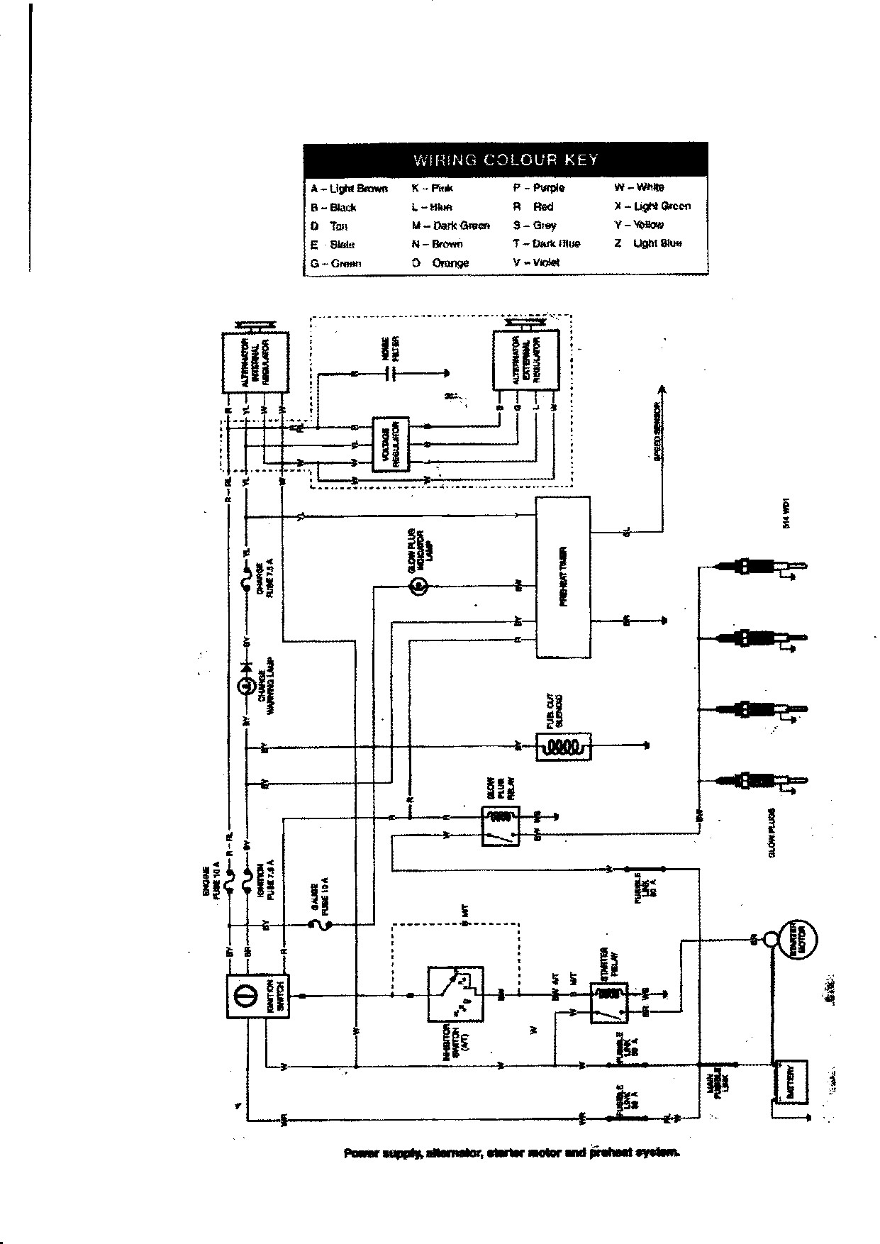 [VL_6898] Toyota Hilux Pickup Power Window Wiring Diagrams