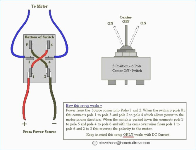 3 pole toggle switch wiring diagram ford think wiring
